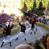 Flag throwing in San Casciano