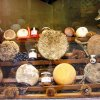 Pecorino cheese sold in Pienza